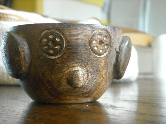 Wooden bowl made in India