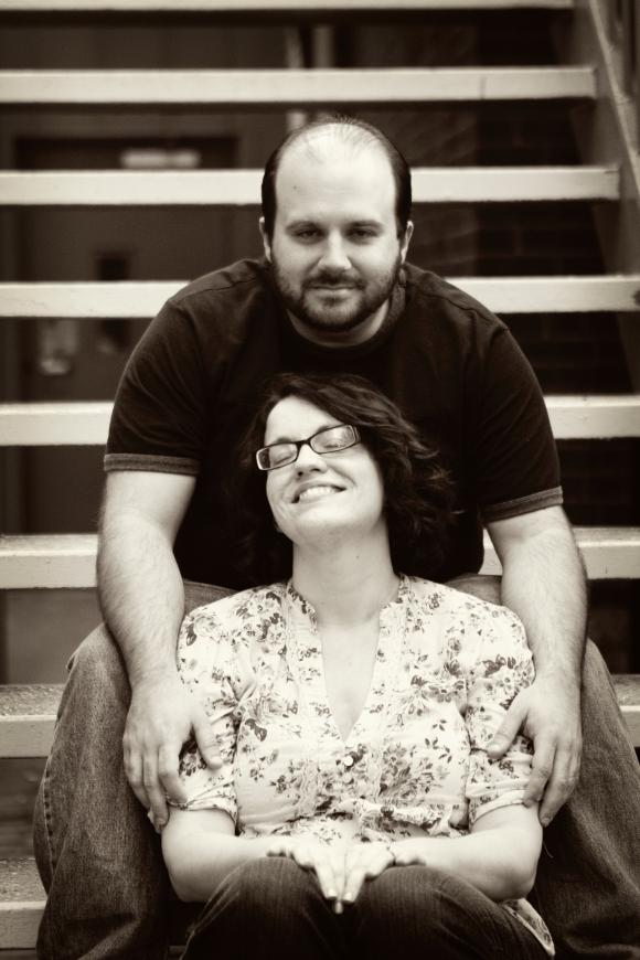 Our favorite engagement shot