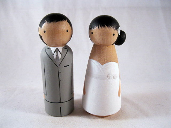 Custom cake topper by peanutbutterbandit