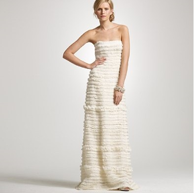 J.Crew Streamer Gown